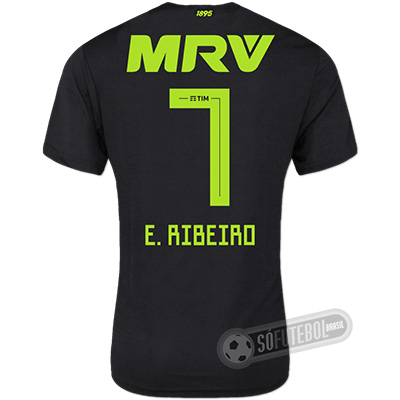 Camisa Flamengo - Modelo III (E. RIBEIRO #7)