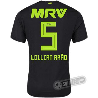 Camisa Flamengo - Modelo III (WILLIAN ARÃO #5)