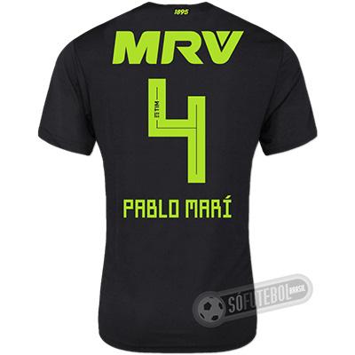 Camisa Flamengo - Modelo III (PABLO MARÍ #4)