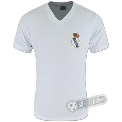 Camisa Real Madrid 1960 - Modelo I