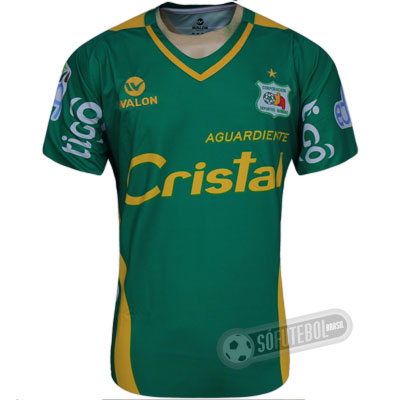 Camisa Deportes Quindío - Modelo I