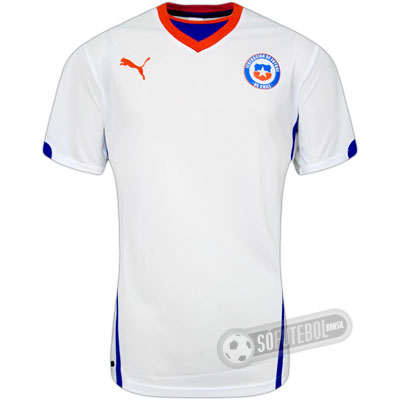 Camisa Chile - Modelo II