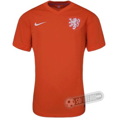 Camisa Holanda - Modelo I