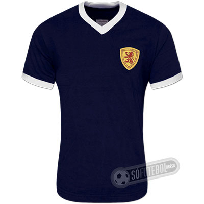 Camisa Escócia 1950 - Modelo I
