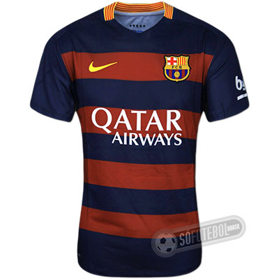 Camisa Barcelona Authentic - Modelo I