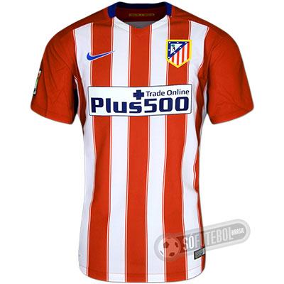 Camisa Atlético de Madrid - Modelo I