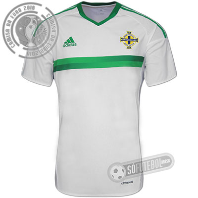 Camisa Irlanda do Norte - Modelo II
