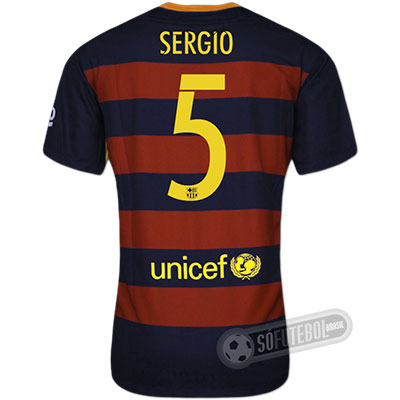 Camisa Barcelona - Modelo I - SERGIO #5