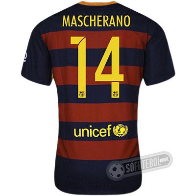 Camisa Barcelona - Modelo I - MASCHERANO #14