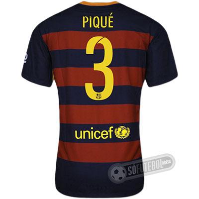 Camisa Barcelona - Modelo I - PIQUÉ #3