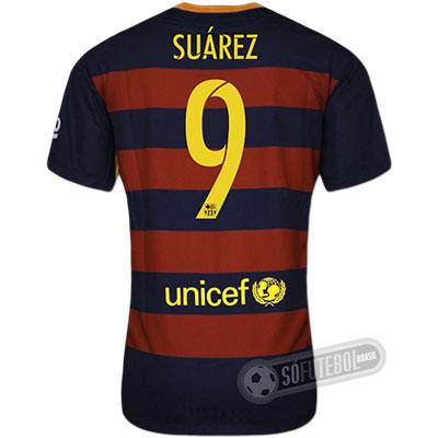 Camisa Barcelona - Modelo I - SUÁREZ #9