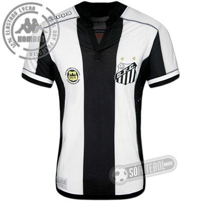 Camisa Santos - Modelo II (Jogador/Kombat)