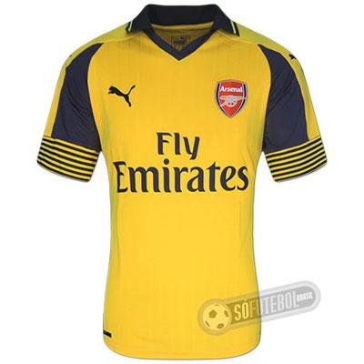 Camisa Arsenal - Modelo II