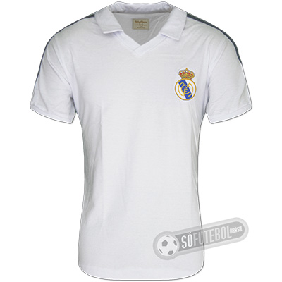 Camisa Real Madrid 1986 - Modelo I