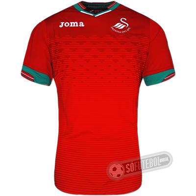 Camisa Swansea City - Modelo II