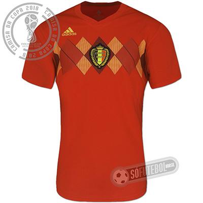 Camisa Bélgica - Modelo I