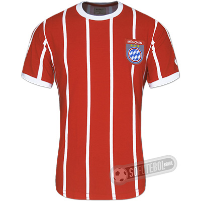 Camisa Bayern München 1974 - Modelo I