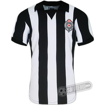 Camisa Partizan Beograd 1966 - Modelo I