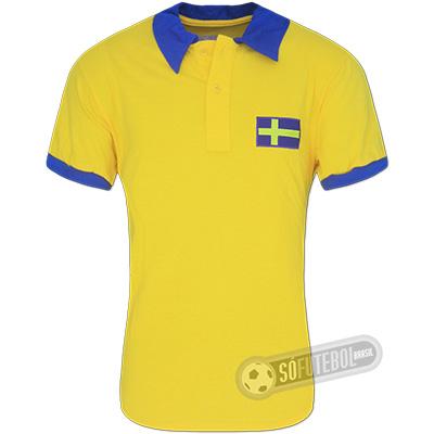Camisa Suécia 1958 - Modelo I