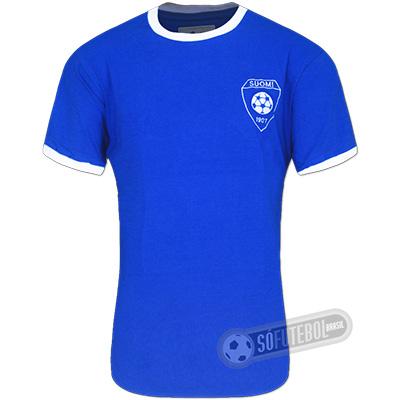 Camisa Finlândia 1970 - Modelo I