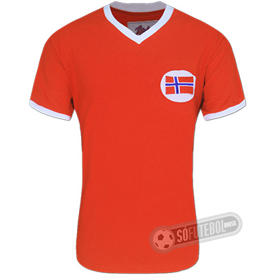 Camisa Noruega 1960 - Modelo I