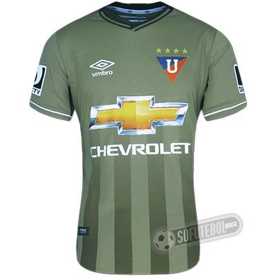 Camisa LDU (Liga Deportiva Universitaria) - Modelo II
