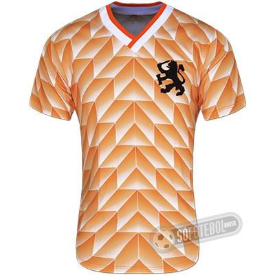 Camisa Holanda 1988 - Modelo I