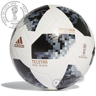 Bola Adidas Telstar FIFA World Cup 2018 Top Glider