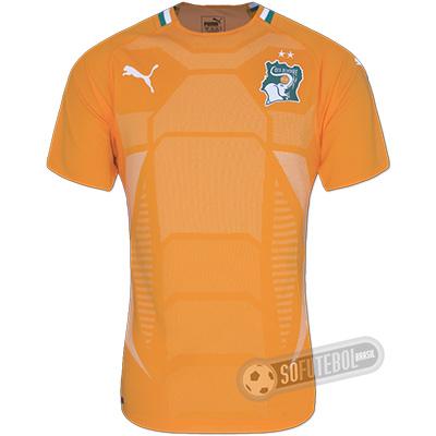 Camisa Costa do Marfim - Modelo I