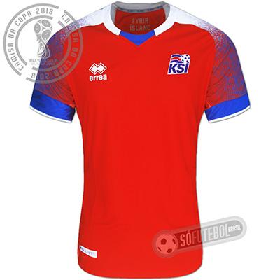 Camisa Islândia - Modelo III
