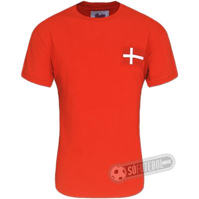 Camisa Dinamarca 1970 - Modelo I