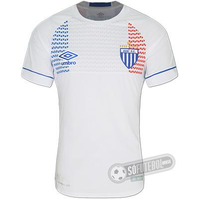 Camisa Avaí - Modelo III - Lion Bleu (Nations 2018 França)