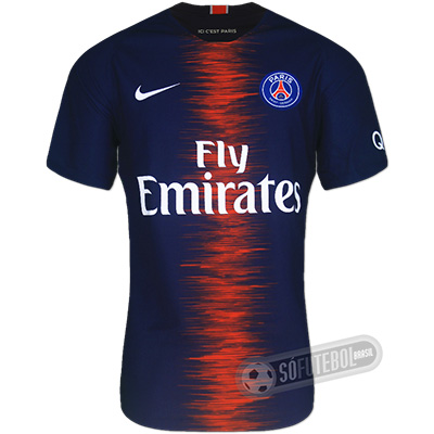 Camisa PSG (Paris Saint Germain) - Modelo I