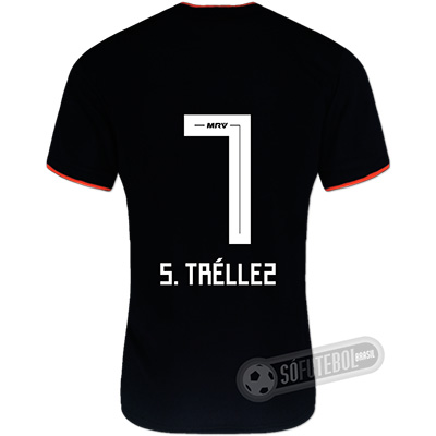 Camisa São Paulo - Modelo II (S. TRÉLLEZ #7)