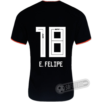 Camisa São Paulo - Modelo II (E. FELIPE #18)