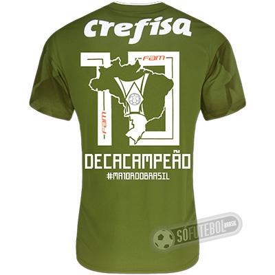 Camisa Palmeiras Edição Limitada - Decacampeão Brasileiro