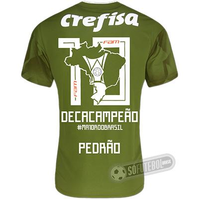 Camisa Palmeiras Edição Limitada (PEDRÃO) - Decacampeão Brasileiro