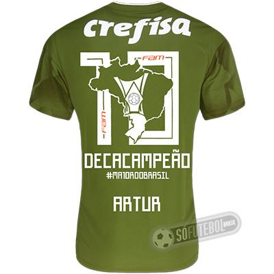 Camisa Palmeiras Edição Limitada (ARTUR) - Decacampeão Brasileiro
