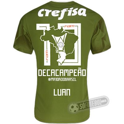 Camisa Palmeiras Edição Limitada (LUAN) - Decacampeão Brasileiro