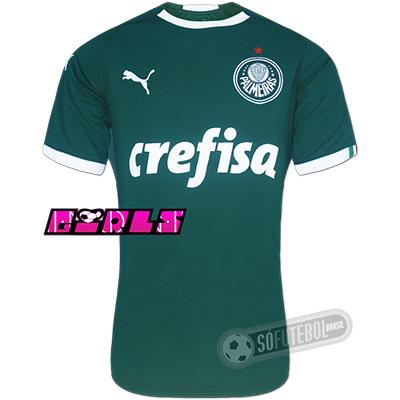 Camisa Palmeiras - Modelo I Feminina