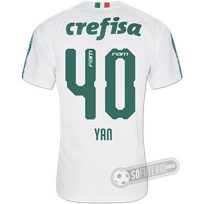 Camisa Palmeiras - Modelo II (YAN #40)