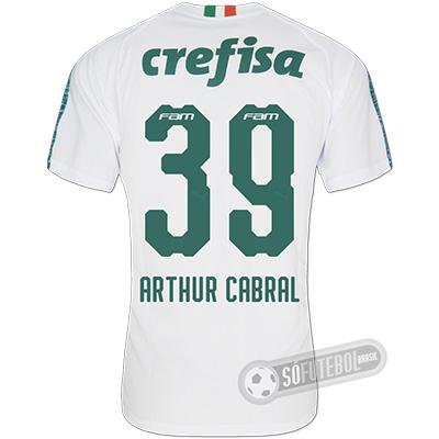 Camisa Palmeiras - Modelo II (ARTHUR CABRAL #39)