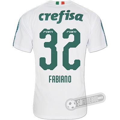 Camisa Palmeiras - Modelo II (FABIANO #32)