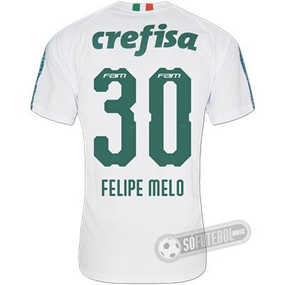 Camisa Palmeiras - Modelo II (FELIPE MELO #30)