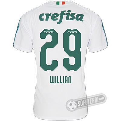 Camisa Palmeiras - Modelo II (WILLIAN #29)