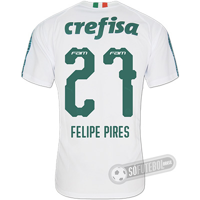 Camisa Palmeiras - Modelo II (FELIPE PIRES #27)