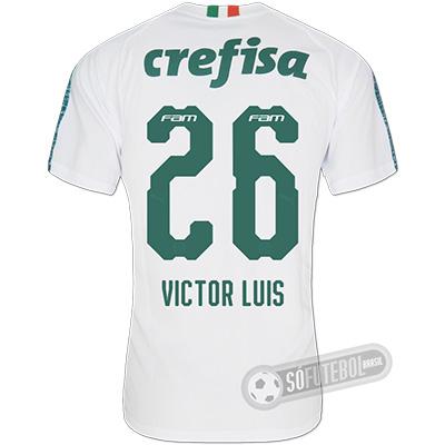 Camisa Palmeiras - Modelo II (VICTOR LUIS #26)