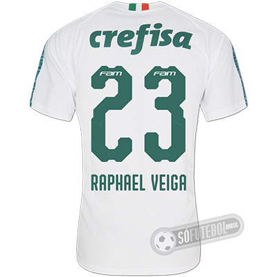 Camisa Palmeiras - Modelo II (RAPHAEL VEIGA #23)