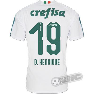 Camisa Palmeiras - Modelo II (B. HENRIQUE #19)