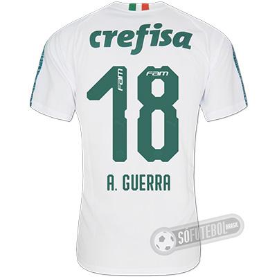 Camisa Palmeiras - Modelo II (A. GUERRA #18)